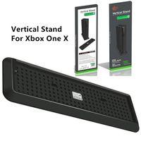 Syytech Dikey Standı Dock Dağı Cradle Tutucu Xbox One X Konsol Aksesuarları için Sabit Taban Braketi