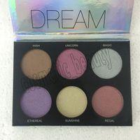 Bronzers Highlighters Makeup Kit Dream Highlight Palette 6 ألوان ظلال ماكياج لوحة ظلال العيون DHL شحن مجاني