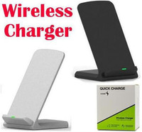 2 Coils Wireless Charger Fast Qi Wireless Charging Stand Pad...