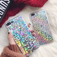 Bling Sequins Laser Light Phone Case For iPhone 6 6S 7 Plus ...