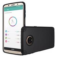 PURE KASE cubierta móvil a prueba de choques de encargo del teléfono celular de Tpu de la cubierta suave para Moto Z juego Moto G6