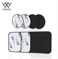 XMXCZKJ Soporte de teléfono Kits de reemplazo de placa de metal con 3 M Adhensive Para Soporte de teléfono celular magnético Soporte de montaje de coche accesorios