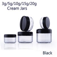 3g 5g 10g 15g 20g Cosmetic Empty Jar Pot Eyeshadow Makeup Fa...
