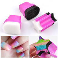 1pc Sponge Nail Art Stamper Gradient Painting Transfer Stamp...
