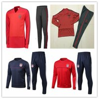 Bayern Munich tracksuit training suit 2018 19 JAMES MULLER L...
