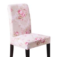 Svetanya главная столовая крышка стула эластичный банкетный свадебный стул охватывает спандекс эластичная ткань универсальный стрейч цветочные сплошной цвет