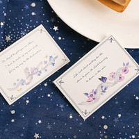 multi- use 5. 2*8cm 54pcs Mini Card song from long time ago de...
