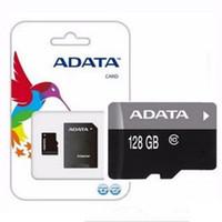 Adata 80MB / S 90MB / S 32GB 64 ГБ 128 ГБ 256 ГБ C10 TF Flash Параметр Freeadapter Розничный блистер Пакет EPANCET DHL Бесплатная доставка