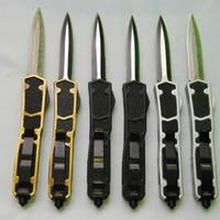 OEM Selbstverteidigung MTAUTOTF Schwert ant 12 Modelle Dual Action D / E Blatt-Jagd-aut Taschenmesser Überlebens-Messer-Weihnachtsgeschenk für Männer 1pcs