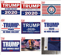 100pcs 8 designs 90*150cm Trump 3x5 Flag keep America Great ...