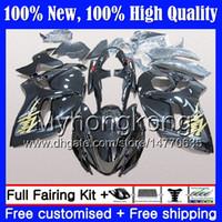 Lichaam voor Suzuki Hayabusa GSXR1300 Stock Black 08 09 10 11 12 13 14 15 19MY16 GSX R1300 GSXR 1300 2009 2009 2010 2011 Verkerkenis