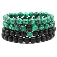 2018 Hot Lava Rock Beaded Bracelets Fashion Natural Stone Ch...