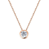 New Brand Fashion Necklaces & Pendants White Gold Rose Gold ...