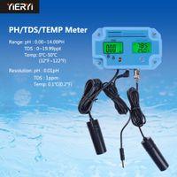Yieryi PH-2983 Digital Tester Ph, temperatura Tds 3 en 1 herramienta del probador del contador del agua del multiparámetro agua analizador de calidad