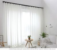 Cortinas de pura pronto fazer a largura da largura da cortina net varia cortina da janela para uso de decoração de casa wed pano de fundo uso