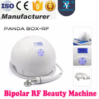Pro Panda Box RF Radio Frequency Face Lifting Skin Apriete eliminación de arrugas Uso en el hogar Bipolar RF Beauty Machine