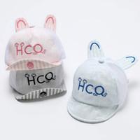 Nuevo bebé de verano Bonnet gorra de béisbol de malla de algodón suave  sombrero Casual viseras infantiles niños niños niñas accesorios regalo 3  colores ... 96a288b0be5
