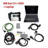 Full Chip MB STAR C4 MB SD Connect Compact 4 Strumento diagnostico con funzione WIFI per Mercedes Benz Car Truck