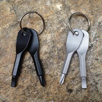 Screwdrivers Multifunctional Pocket Tool Keychain Outdoor ED...