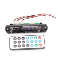 Ücretsiz kargo! 1 adet 12 V Bellek Bluetooth MP3 Çözme Kurulu FALC WAV WMA APE Ses Amplifikatör Alıcı Dekoder Çalar Modülü + Tel Uzaktan Cont