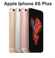 "Apple OPPLE OPPLE 6S / iPhone 6S Plus المزدوج كور 2 جيجابايت RAM 16GB 64GB 128GB ROM 5.5 ""بوصة 12.0MP كاميرا LTE مقفلة تم تجديد الهاتف"