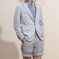 Wedding Men Suit Summer Costume Homme Groom 2Pieces(Jacket+ P...