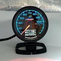 62mm 2,5 tum 7 färg i 1 Racing Greddy Multi D / A LCD Digital Display Vatten Temp Gauge Vattentemperaturgivare Mätare