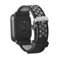 Легкий вентилировать ремешок ремешок для Xiaomi Huami Amazfit Спорт Smartwatch силиконовые роскошные Корреа reloj качество