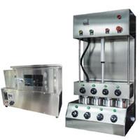 Beijamei Pizza Koni Ekipmanları Ticari Endüstriyel Pizza Koni Yapma Makinesi Ve Elektrikli Pizza Fırın Makinesi Fiyat