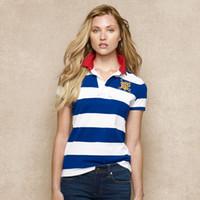 무료 배송! 여름 패션 2018 도매 새로운 브랜드 스트 라이프 100 % 코튼 반팔 여성 슬림 폴로 셔츠
