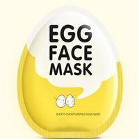 DHL gratuit New BIOAQUA Egg Masques du visage Huile de contrôle Brighten Masque Enveloppé Masque hydratant visage offres Soin de la peau masque hydratant