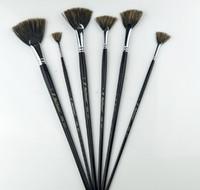 Malerei-Versorgungsmaterialien A113 Gouachefächerstift-einzelne spezielle Wildschwein-Borstenborstenbürste, Bürstenstift, Aquarellmalerei
