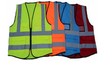 Freie Fracht Hohe Sichtbarkeit Kleidung Kleidung Sicherheit Reflektierende Weste Nachtarbeit Sicherheit Verkehr Radfahren LLFA