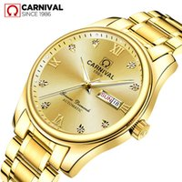 Carnival Luxury Business Men Automatic Mechanical Watches St...