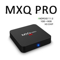 Cheapest Android 7. 1 Tv Box Mxq Pro H3 Quad Core 1GB 8GB Sma...