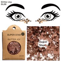 GL08 Star Shape Super Star Body Glitter Festival также могут быть Shine on Night Club и подарком на Рождество
