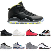 Venom 10 Basketball Shoes 10s X Westbrook Class of 2006 cement fusion red venom Im back Sports Sneakers 7-13