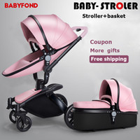 Free Ship! Factory Sale Babyfond Baby Stroller Golden Frame ...