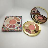 2018 Hot Sale Ladies Night Clay Palette paleta de sombra de ojos + blush + resaltador maquillaje conjunto DHL envío gratis
