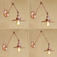 Swing Long Arm Wall Lamp Vintage LED Wandlamp Retro Wall Lig...