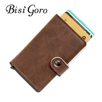 BISI GORO 2017 Men And Women  Holder Single Box Pu Leather V...