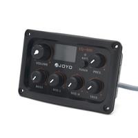 Joyo chitarra Equalizzatore EQ-505 5 Band EQ con i pulsanti di colore di silicio per gli Strumenti di musica fai da te