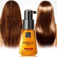 Health Maroc Argan Huile Huile Coiffure Essence Nourrissante Réparation Splânée Split Frizzy Cheveux