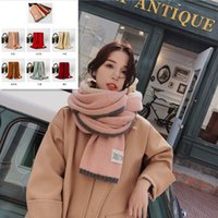 180x45cm Women Hijab Wrinkle Scarf Simple Cotton Wrinkles Po...
