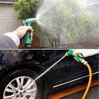 Lavado de coches Pistola de agua Herramientas de jardín Lavadora de cobre Boquilla Boquilla Duradera Ajustable Presión Agua Agua Hogar Jardín Herramientas de limpieza