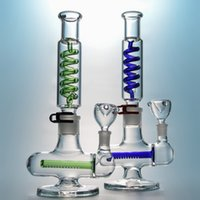 Special Glass Bongs With Condenser Coil Dab Rig Freezable Gl...
