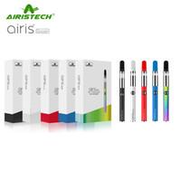 100% Autêntico Airis Quaser E Cigarro Starter Kits Vape Caneta Q-cell Bobina De Quartzo 350 mah Bateria 5 cores