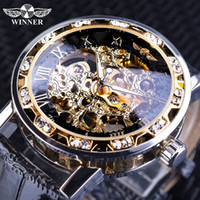 Winner New Black Golden Retro Luminous Hands Fashion Designe...