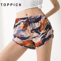 Toppick Gym Shorts Women Yoga Shorts Fitness Women Sport For...