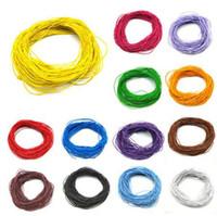 24 mt * 1mm Günstige Erkenntnisse Perlen Schmuck Core Elastisches Seil Stretch Gummi Linie Perlen Cord Für DIY Armband Halskette Schmuckherstellung